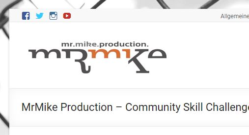 MrMike Production – Community Skill Challenge