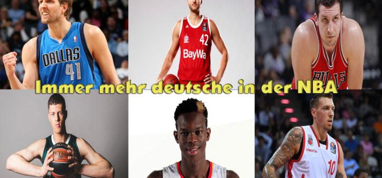 Immer mehr deutsche in der NBA
